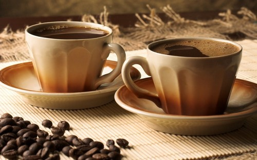 Приятно выпить кофе