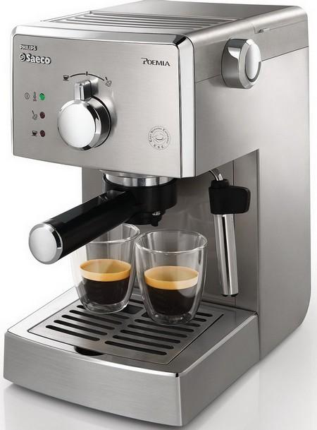 Кофемашина цвет металлик