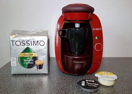 Кофемашина с Т дисками