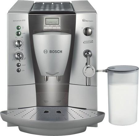 Серая модель кофемашины