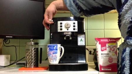 Использование кофемашины