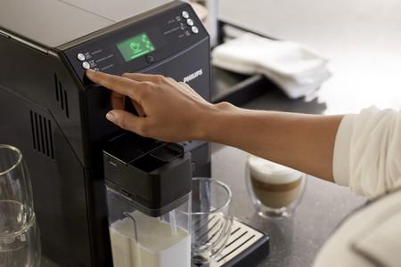 Работа кофемашины