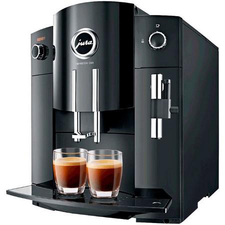 Черная модель кофемашины