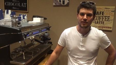 Использование кофемашины в кафе