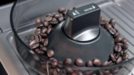 Помол кофе в кофемашине