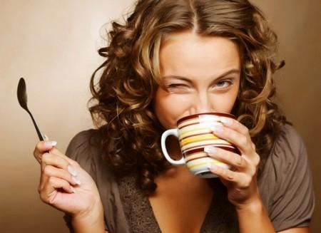 Любительница кофе