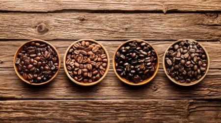 Разнообразие зерен кофе