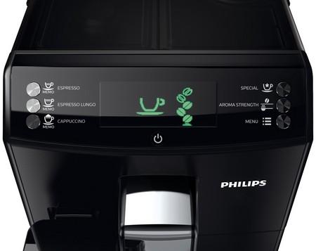 Панель управления кофемашины
