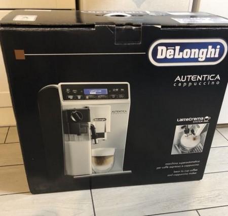 Кофемашина Delonghi в фабричной упаковке