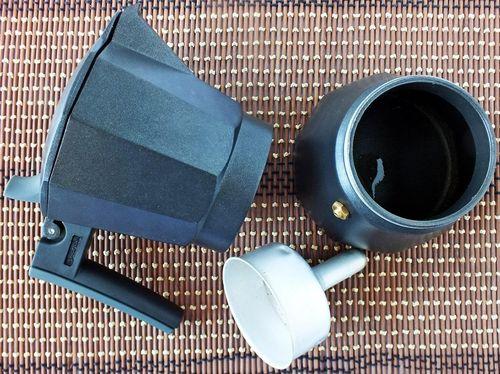 Разобранная кофеварка