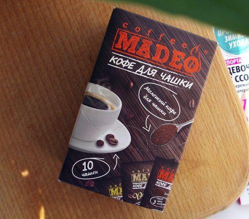 Кофе молотый Madeo