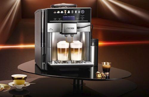 Самая тихая автоматическая кофемашина Siemens