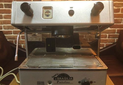 Полуавтоматическая кофемашина brasilia portofino